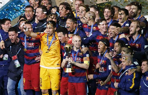 Barca và Cup vô địch thế giới các CLB thứ ba trong vòng sáu năm.