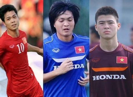 Duy Mạnh (28) sẽ cạnh tranh với hai đồng đội đến từ HAGL trong màu áo U23 Việt Nam để giành giải thưởng cầu thủ trẻ hay nhất năm.