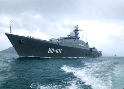 Chiến hạm Báo đốm - Gepard của Hải quân Việt Nam