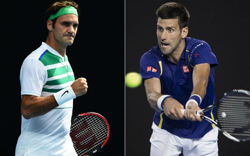 Federer liệu có thể cản bước tay vợt số một thế giới vào hôm nay.