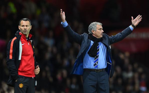 Jose Mourinho-va-Ryan Giggs