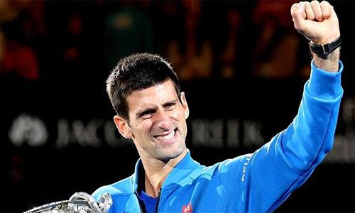 Djokovic nhận sự tin tưởng lớn cho chiến dịch bảo vệ danh hiệu Australia mở rộng. Ảnh: AFP.