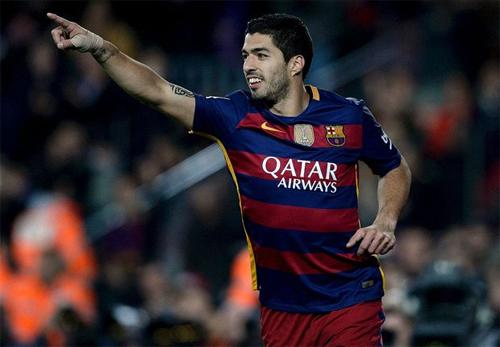 """""""S9"""" đang chơi rất hay trong màu áo Barca. Ảnh: Reuters"""