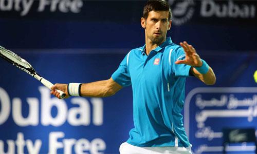 Djokovic trở lại sau ba tuần và lại thắng dễ. Ảnh: AFP.