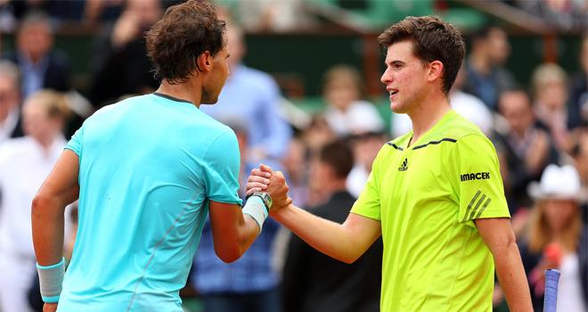 Dominic Thiem vs Nadal