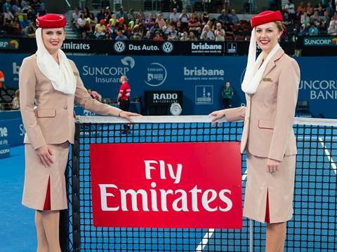 Bản hợp đồng Emirates ký với ATP có số tiền kỷ lục, 160 triệu USD