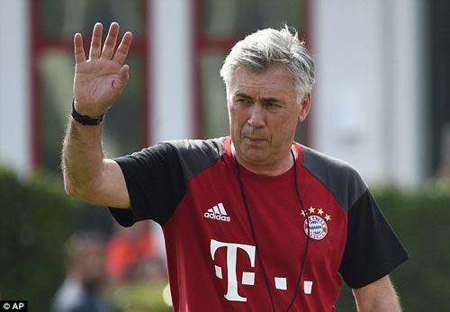 HLV Ancelotti hứa sẽ mang tới Bayern một thứ bóng đá đẹp