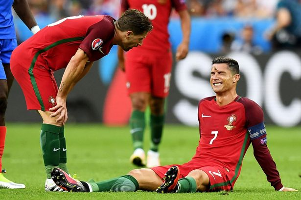 Ronaldo chấn thương khiến chị gái đau đớn tột cùng