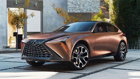 Lexus tung mẫu SUV mới cạnh tranh với Lamborghini Urus