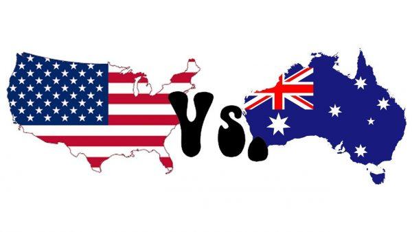 Sự khác nhau giữa tiếng Anh - Mỹ và Anh - Úc