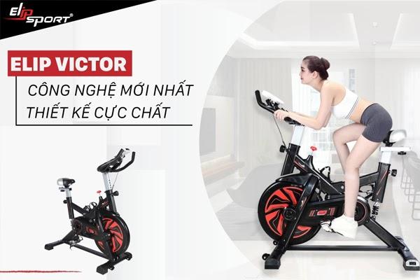 Xe đạp tập ELIP Victor - Giá thành: 4.690.000đ (cập nhật ngày 24/8/2020)