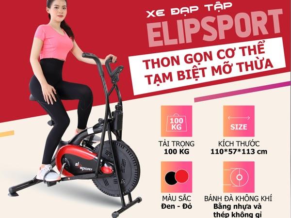Xe đạp tập ELIP Sport - Giá thành: 3.390.000đ (cập nhật ngày 24/8/2020)