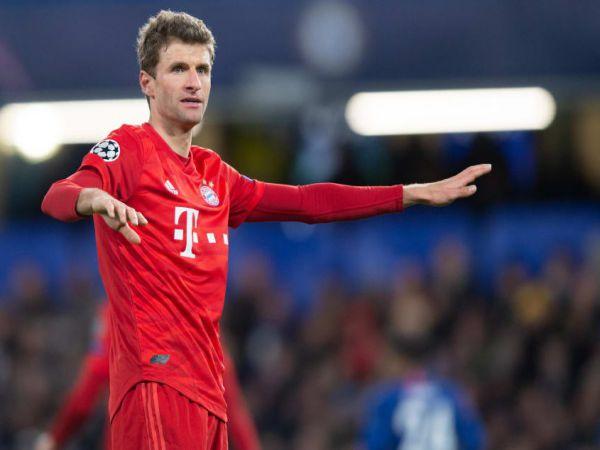 Tin C1 trưa 8/4: Muller trách hàng công Bayern kém cỏi khi thua PSG