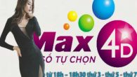 Lịch quay Max 4D Vietlott