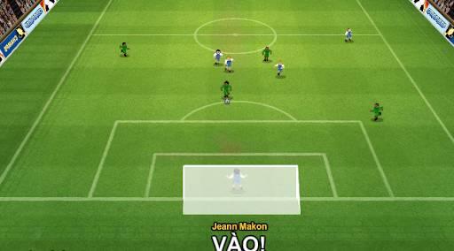 Game bóng đá 3D hút khách